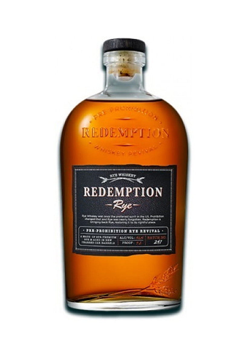 Redemption Rye Whiskey, Kentucky 750mL - The Corkery Wine & Spirits