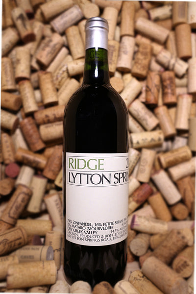 Ridge Zinfandel, Lytton Springs Vyd, Dry Creek Valley, CA 2015 - The Corkery Wine & Spirits