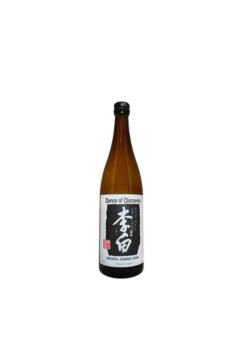 "Rihaku Shuzo, Junmai Sake ""Dance of Discovery"" Chugoku, Japan 300mL"