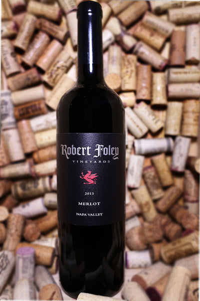 Robert Foley Vineyards Merlot, Napa Valley, CA 2013 - The Corkery Wine & Spirits