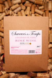 Saveurs du Temps Rose Costieres de Nimes, France 2017 (3L Box) - The Corkery Wine & Spirits