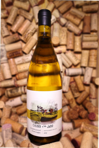 Scar of The Sea Chardonnay Seven Leagues, Santa Maria Valley, CA 2015 - The Corkery Wine & Spirits