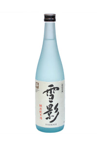 "Kinshihari Shuzo, Yukikage Tokubetsu Junmai Sake ""Snow Shadow"" Japan 300mL - The Corkery Wine & Spirits"
