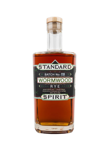 Standard Wormwood Distillery, Wormwood Rye, Brooklyn, NY 750mL - The Corkery Wine & Spirits