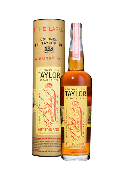 Colonel E.H. Taylor Straight Rye Whiskey - The Corkery Wine & Spirits