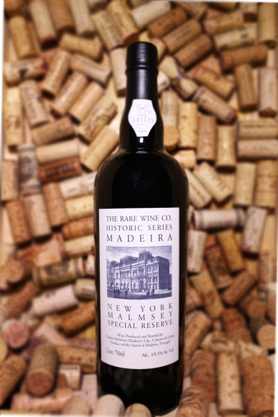 The Rare Wine Co. Historic Series, Madeira, New York Malmsey Special Reserve, Madeira, Portugal NV 750mL - The Corkery Wine & Spirits
