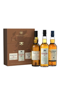 The Classic Malts Coastal Collection, 3x200mL Single Malts Scotch