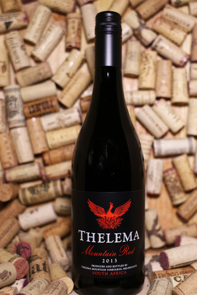 Thelema Mountain Red Blend South Africa 2013