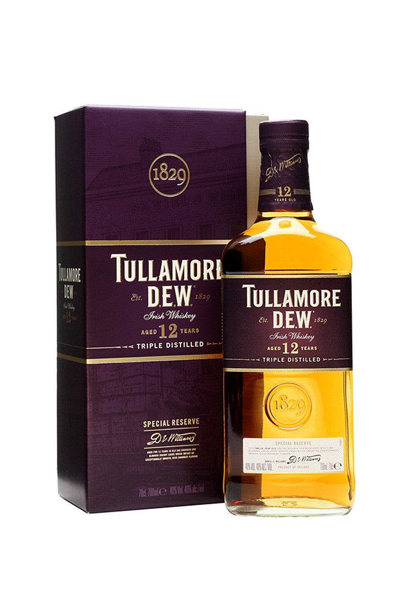 Tullamore Dew Irish Whiskey 12Yr Special Reserve, 750mL - The Corkery Wine & Spirits