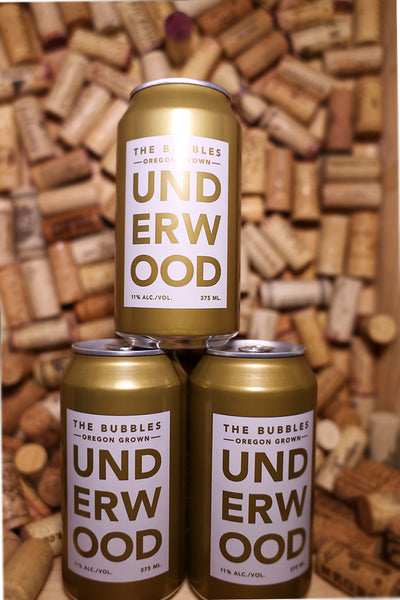 Underwood Sparkling Wine Oregon, 375 mL CAN - The Corkery Wine & Spirits