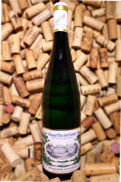 Weingut Max Richter Riesling Spatlese Feinherb Mulheimer Sonnenlay  Mosel, Germany 2007