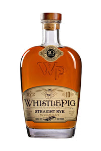 WhistlePig Farm 10 Year Old Straight Rye Whiskey