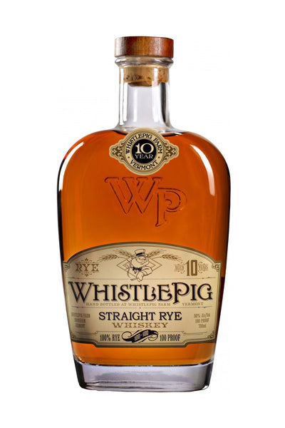 WhistlePig Farm 10 Year Old Straight Rye Whiskey, Shoreham, VT - The Corkery Wine & Spirits
