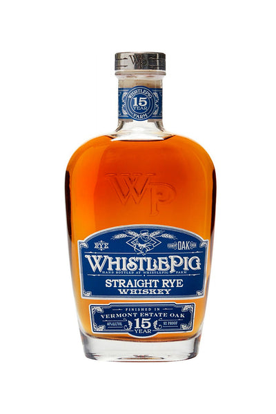 WhistlePig 15 Year Straight Rye Whiskey  Shoreham, VT