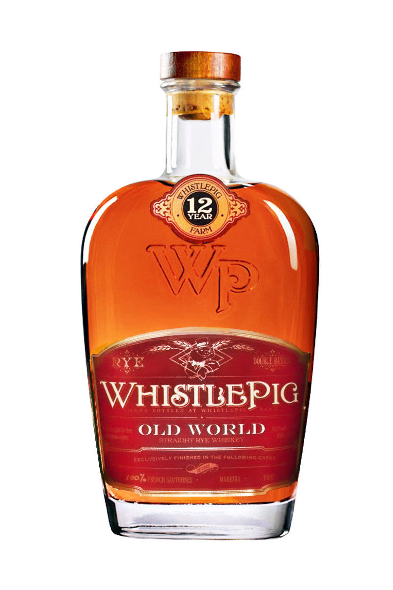 WhistlePig Old World Straight Rye Whiskey, Shoreham, VT 12 Year - The Corkery Wine & Spirits