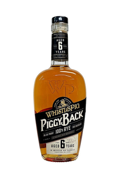 Whistlepig PiggyBack 6 year old Rye 96 Proof, VT