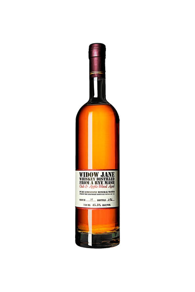 Widow Jane Rye Whiskey Oak & Apple Wood Aged, New York 750mL