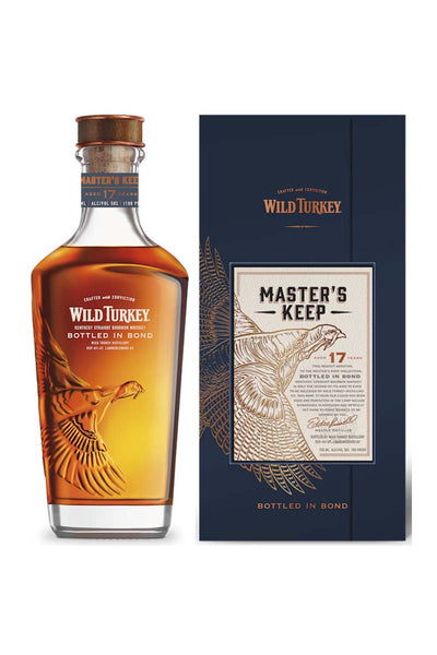Wild Turkey Master's Keep 17 Year Bottled in Bond 100 Proof Kentucky Bourbon