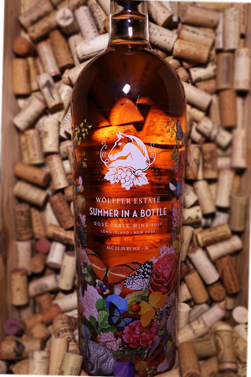 Wolffer Summer in a Bottle Rose, Long Island, NY 2017  (3 Liters)