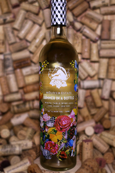 Wolffer Estate Summer in a Bottle White Blend Long Island 2015 - The Corkery Wine & Spirits