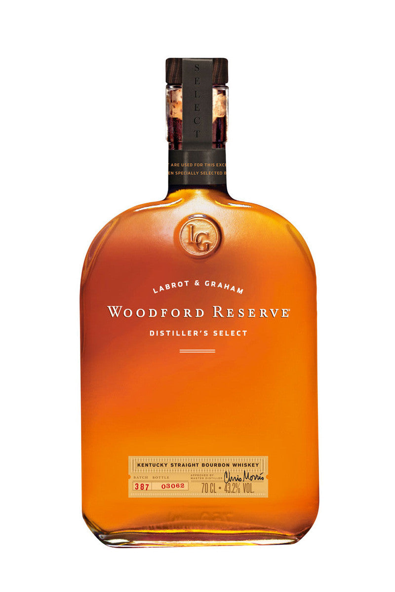 Woodford Reserve Bourbon Whiskey, Kentucky 750mL - The Corkery Wine & Spirits