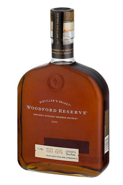 Woodford Reserve Bourbon Whiskey, Kentucky 1.75L - The Corkery Wine & Spirits