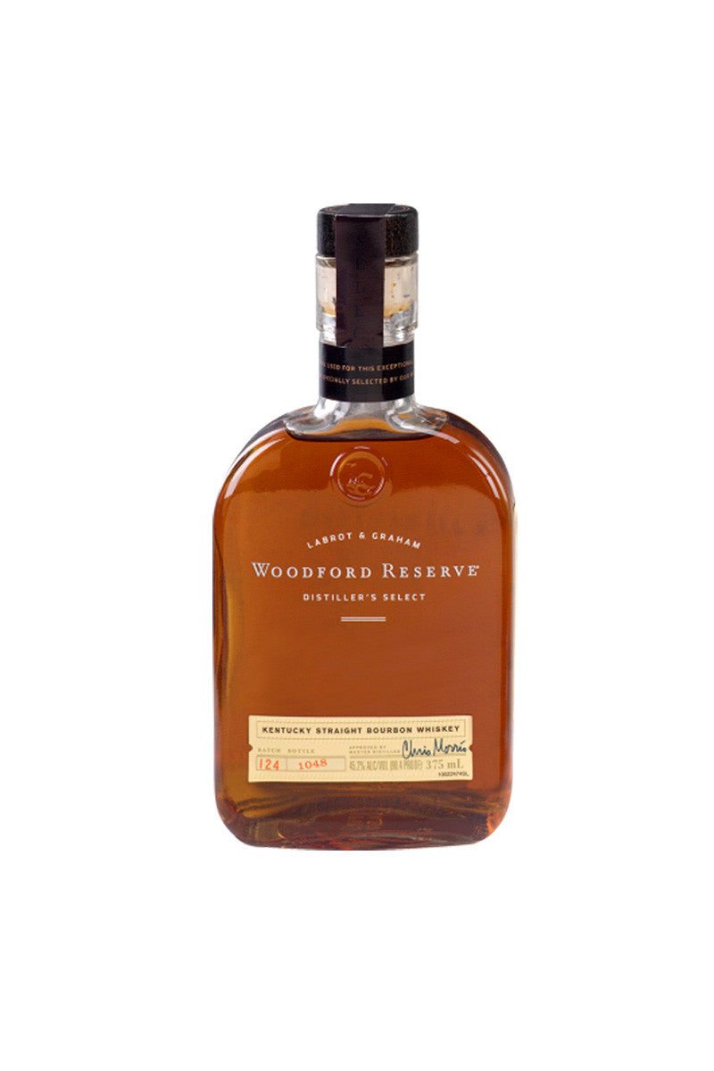 Woodford Reserve Bourbon Whiskey, Kentucky 375ml - The Corkery Wine & Spirits