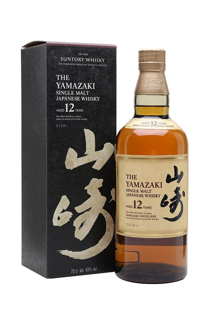 Suntory Yamazaki 12 Year Old Single Malt Japanese Whiskey 750mL
