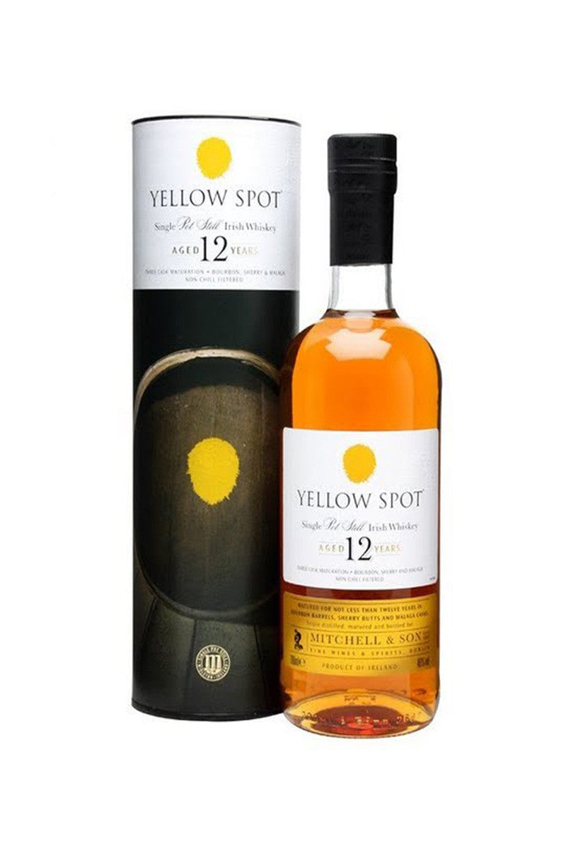 Yellow Spot Irish Whiskey Pot Still 12 Year 750 mL - The Corkery Wine & Spirits