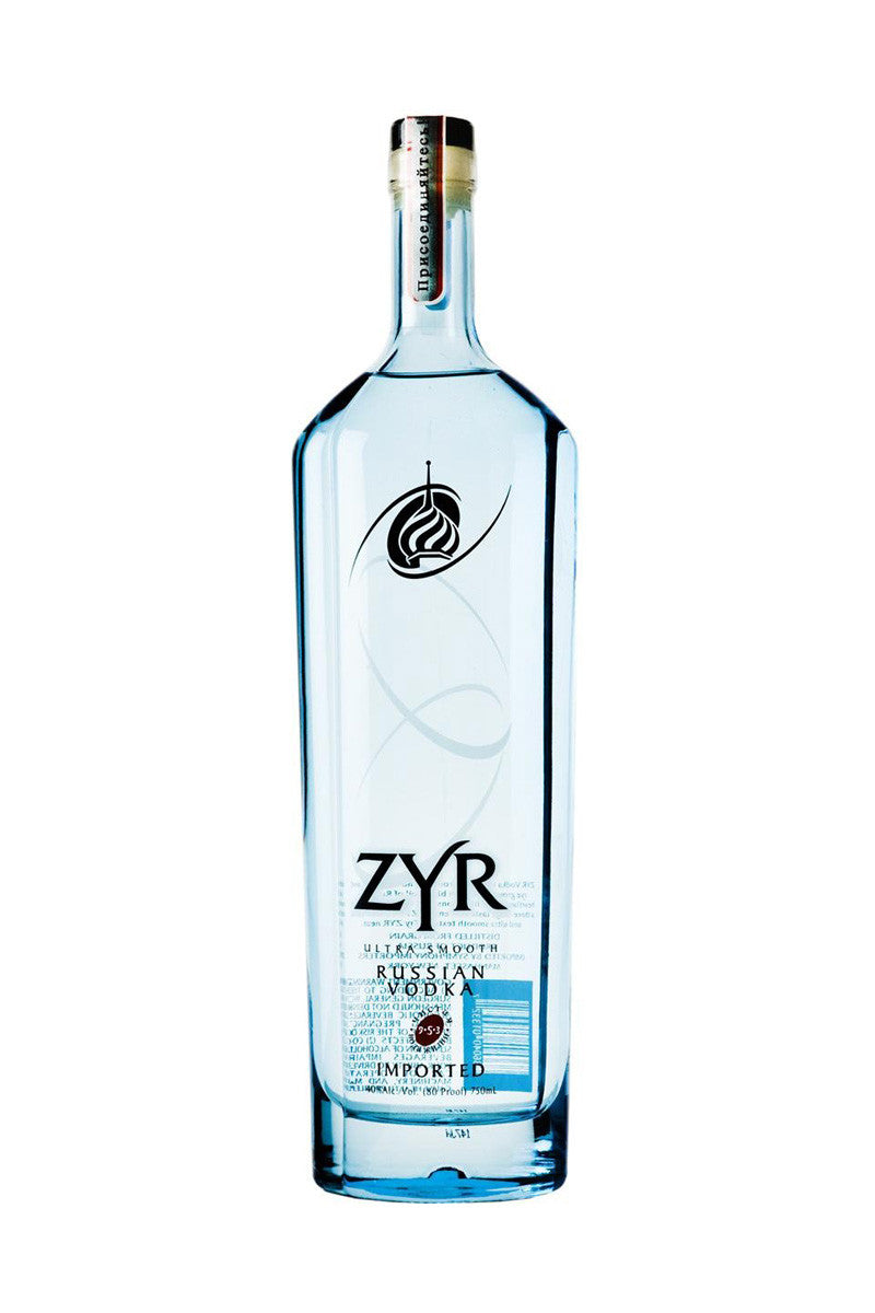 ZYR Vodka, Russia 375mL - The Corkery Wine & Spirits