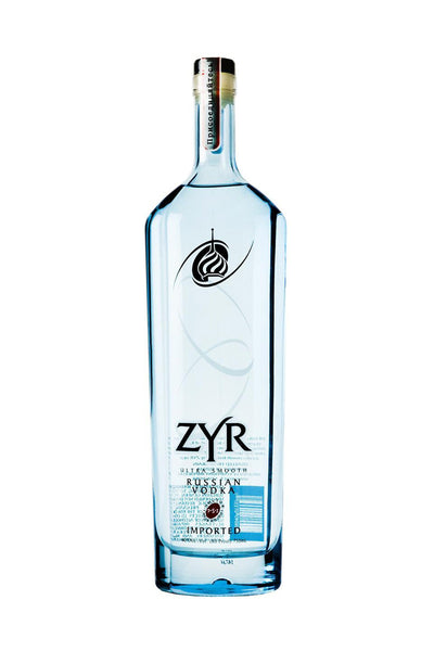 ZYR Vodka, Russia 1 Liter - The Corkery Wine & Spirits