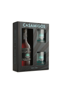 Casamigos Anejo Tequila, Mexico 750mL (gift set with two glasses)
