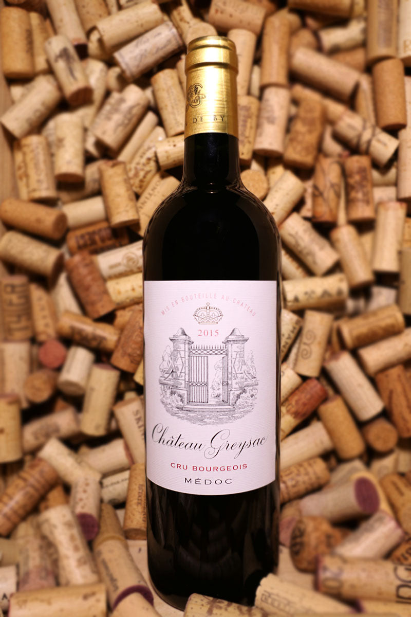 Chateau Greysac Medoc Cru Bourgeois Bordeaux, France 2015