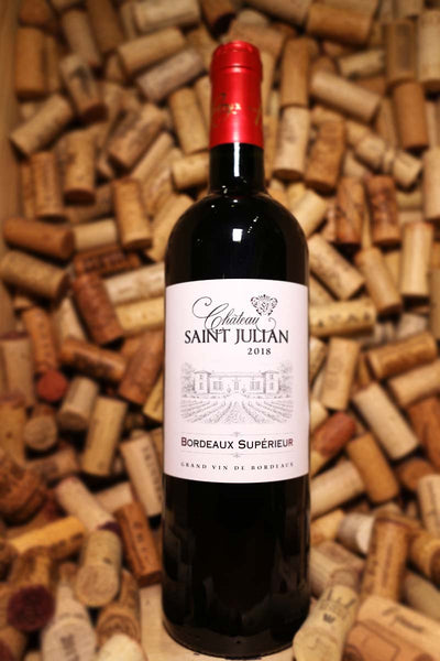 Chateau Saint Julian Bordeaux Superieur, Bordeaux, France 2018