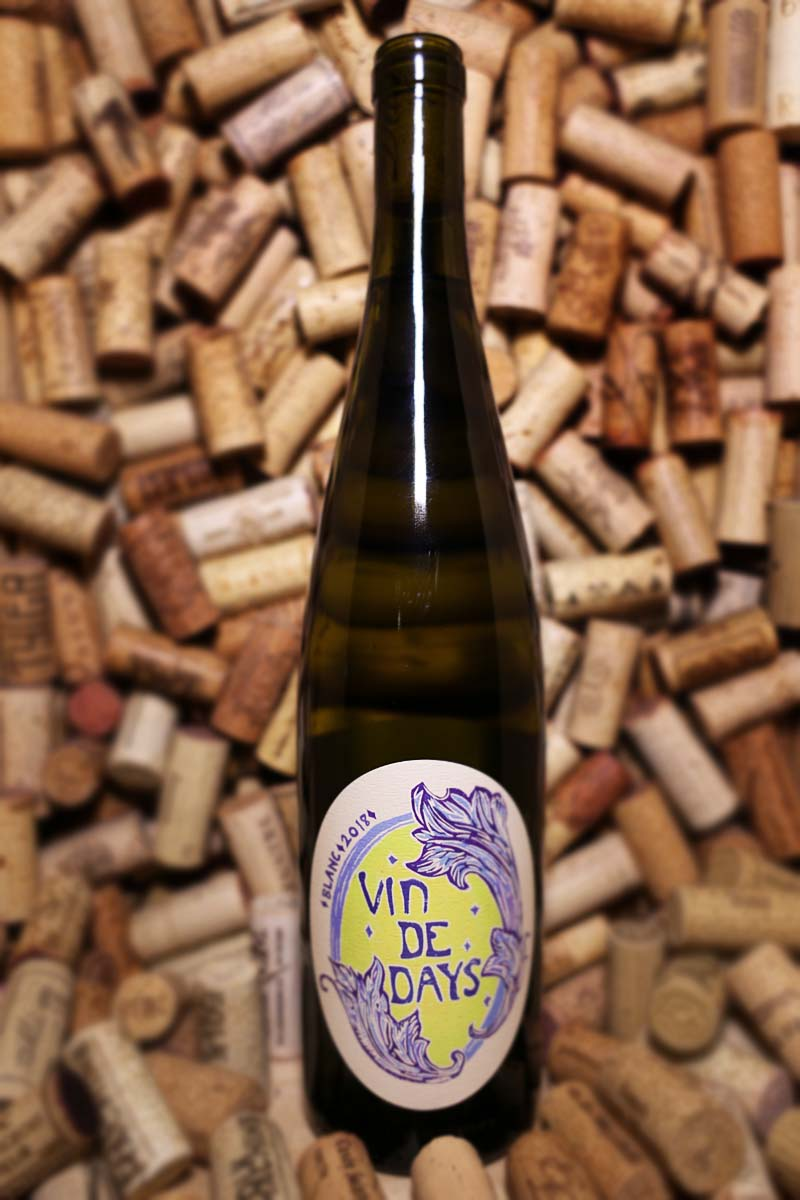 Day Wines, Vin de Days Blanc Willamette Valley, OR 2018