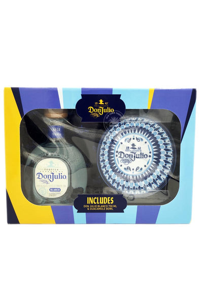 Don Julio Blanco Tequila with guacamole bowl (gift set) 750mL