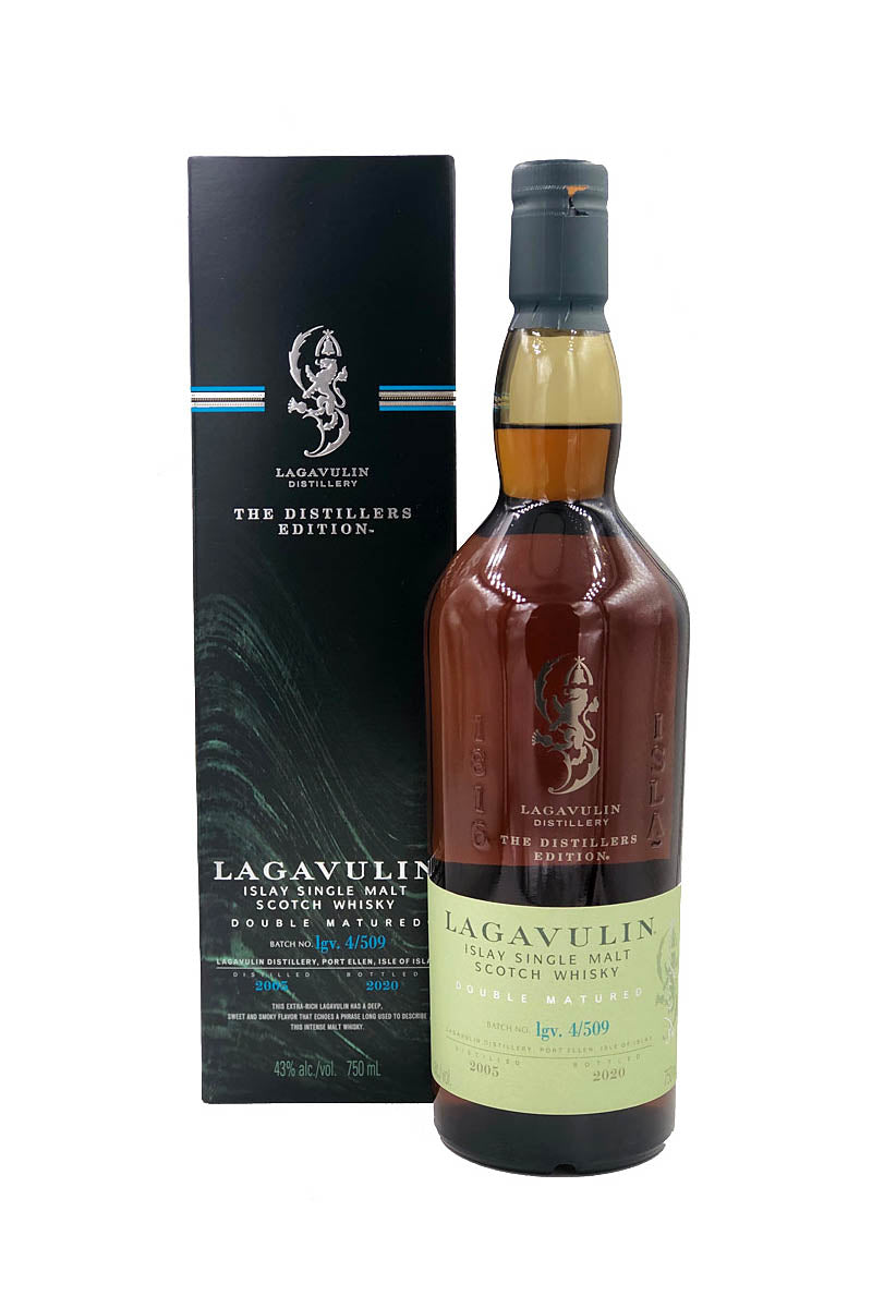 Lagavulin Distillers Edition 2005 Double Matured, Islay Single Malt Scotch 750mL