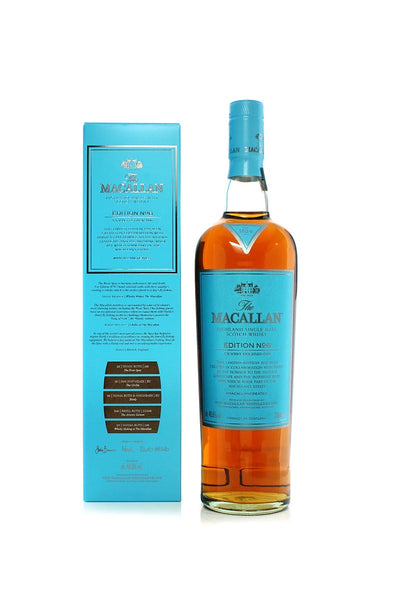 The Macallan Edition No.6, Highland Single Malt Scotch 750mL