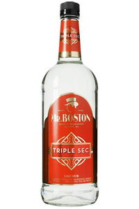 Mr. Boston Triple Sec Liqueur, USA 1 Liter - The Corkery Wine & Spirits