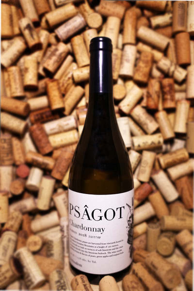 Psagot Chardonnay M Series Jerusalem Mountains, Israel 2018 (Kosher)