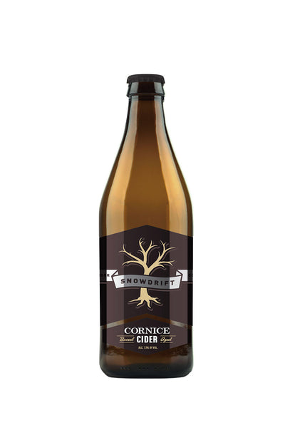 Snowdrift Company Cornice Barrel Aged Cider, Columbia Valley, WA 500mL