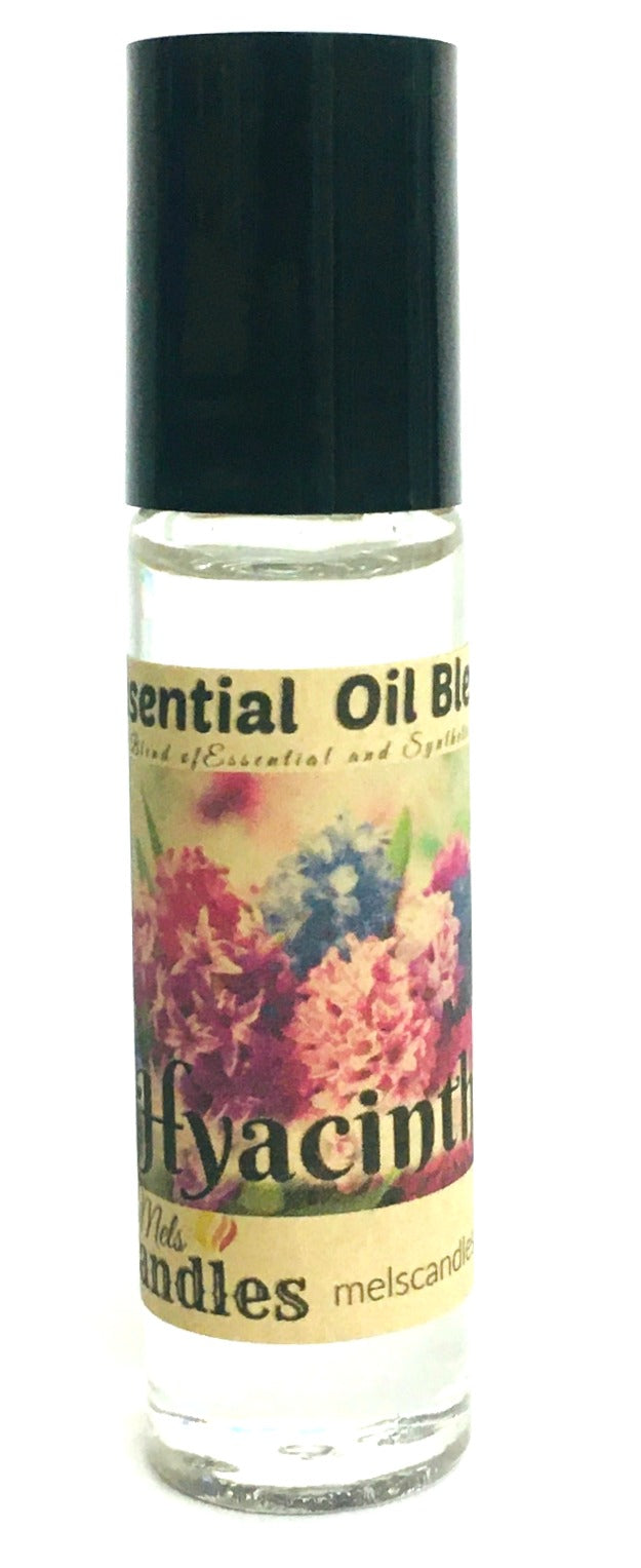Hyacinth 10 ml Glass Roll on Bottle of Perfume Oil