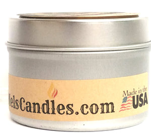 Magnolia 4 Ounce All Natural Soy Candle Tin Handmade in Mo
