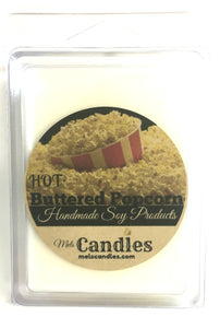 Buttered Popcorn -3.4 Ounce Pack of Soy Wax Tarts - Mels Melts