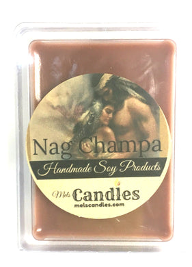 Nag Champa - 3.4 Ounce Pack of Soy Wax Tarts - Mels Melts