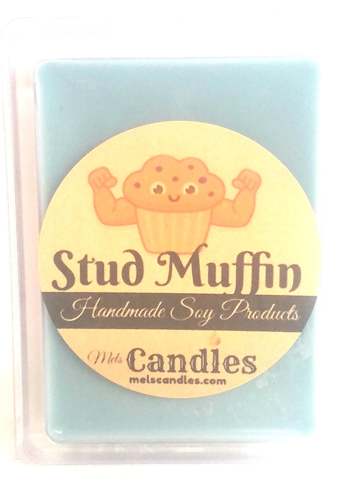 Stud Muffin 3.4 Ounce Pack of Soy Wax Tarts - Mels Melts