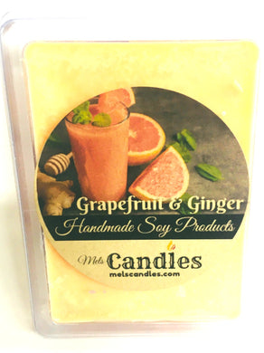 Grapefruit and Ginger 3.4 Ounce Pack of Soy Wax Tarts Mels Melts