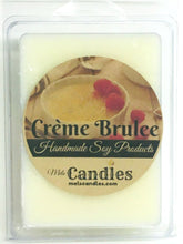 Load image into Gallery viewer, Creme Brulee - 3.4 Ounce Pack of Soy Wax Tarts - Mels Melts