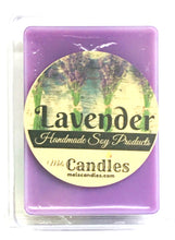 Load image into Gallery viewer, COMBO 3 Packs of Lavender Soy Wax Tarts - 3.4 Ounces Per Pack of Mels Melts