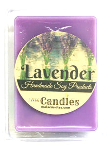 COMBO 3 Packs of Lavender Soy Wax Tarts - 3.4 Ounces Per Pack of Mels Melts